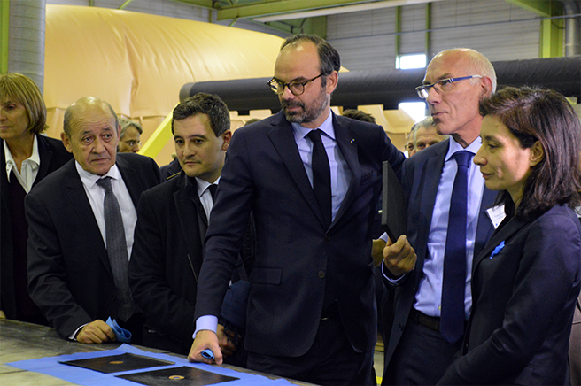 Monsieur le Premier Ministre Edouard Philippe chez Pronal