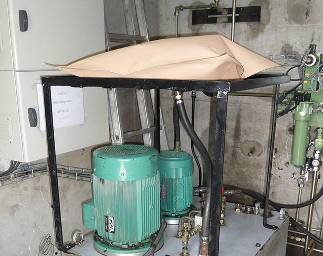 Compensateur gonflable d'huile