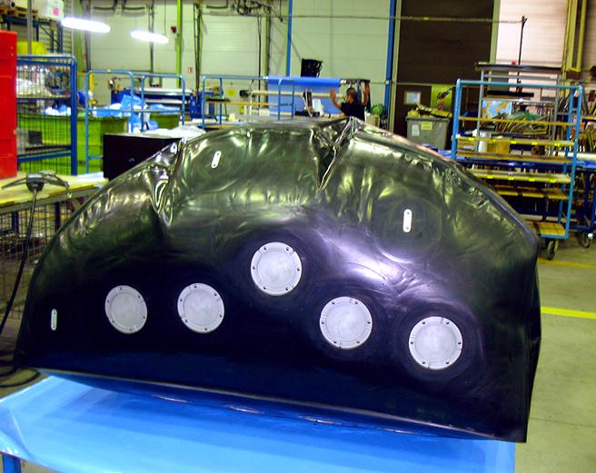 réservoir souple aéronautique Pronal