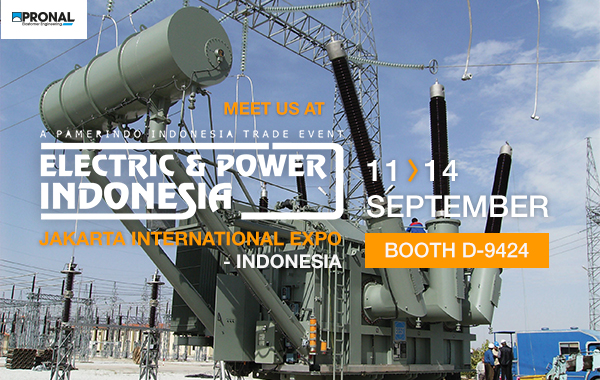 Pronal au salon Electric & power Indonesia