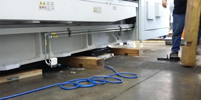 Coussin pneumatique levage de machine