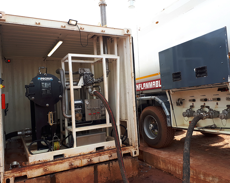 MPFM - Measuring Pumping Filtration Modules