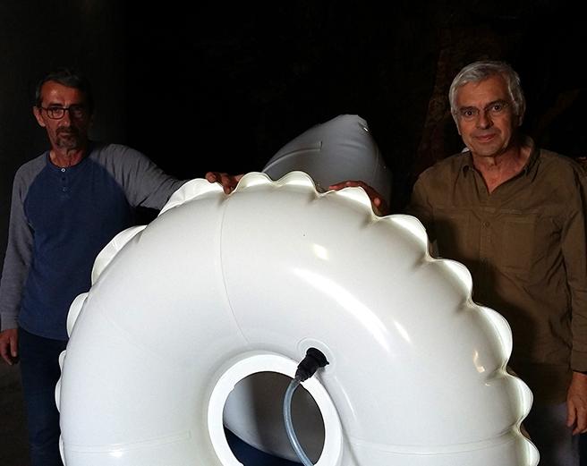 Vinifair y globos de vinificación