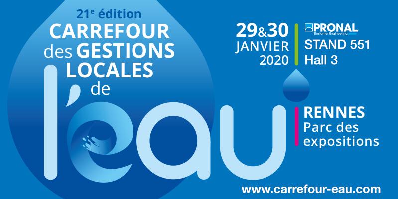 Pronal au Carrefour de l'eau 2020