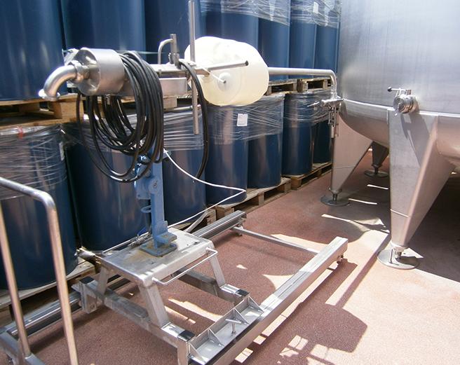 Obturador de PU inflable para boca de inspección de tanque