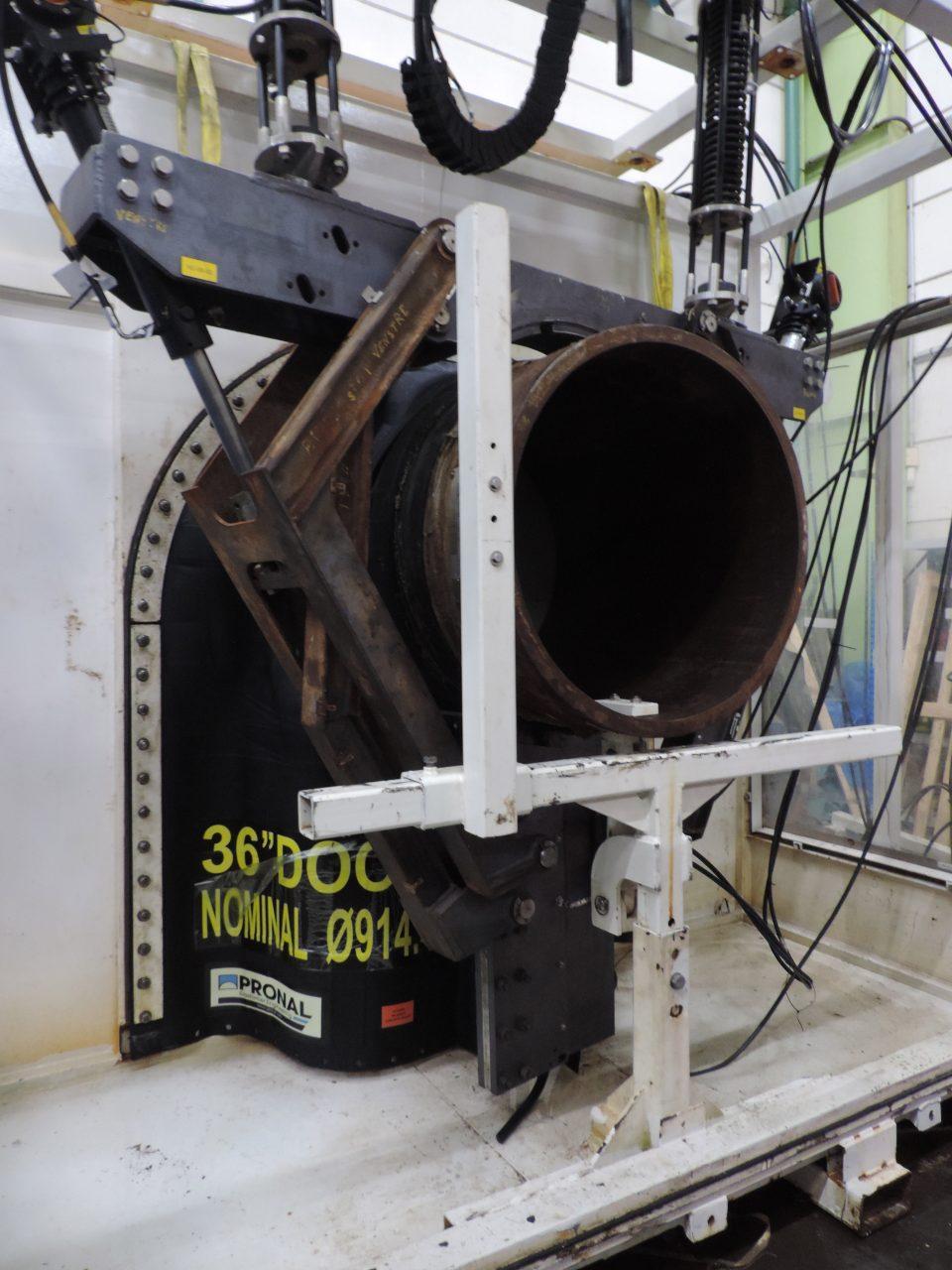 Test de porte souple pour habitats sous-marins